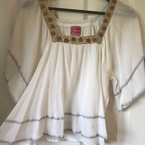 Free people top - white - size M